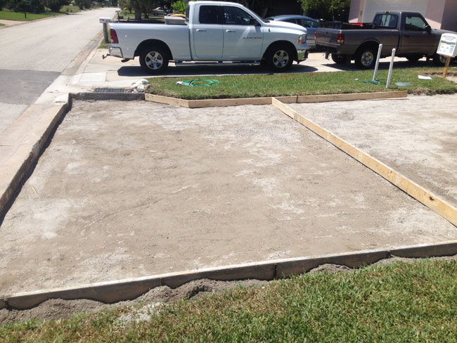 Concrete Driveway Cocoa Beach, FL 02