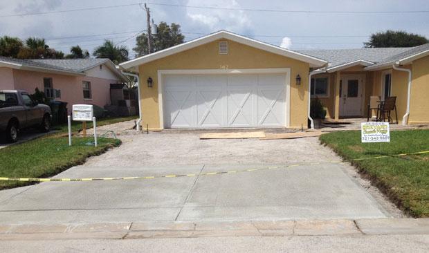 Concrete Driveway Cocoa Beach, FL 08