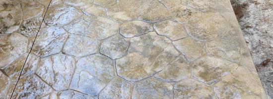 Custom Stamped Concrete Sidewalk