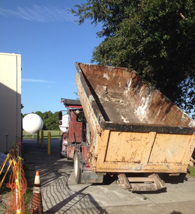 Harris Campus Concrete Demolition 03