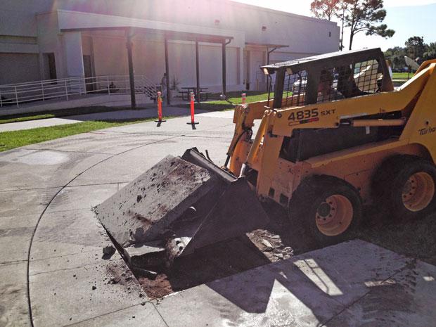Harris Campus Concrete Demolition 05