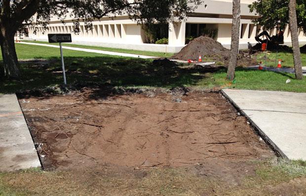 Harris Campus Concrete Demolition 14