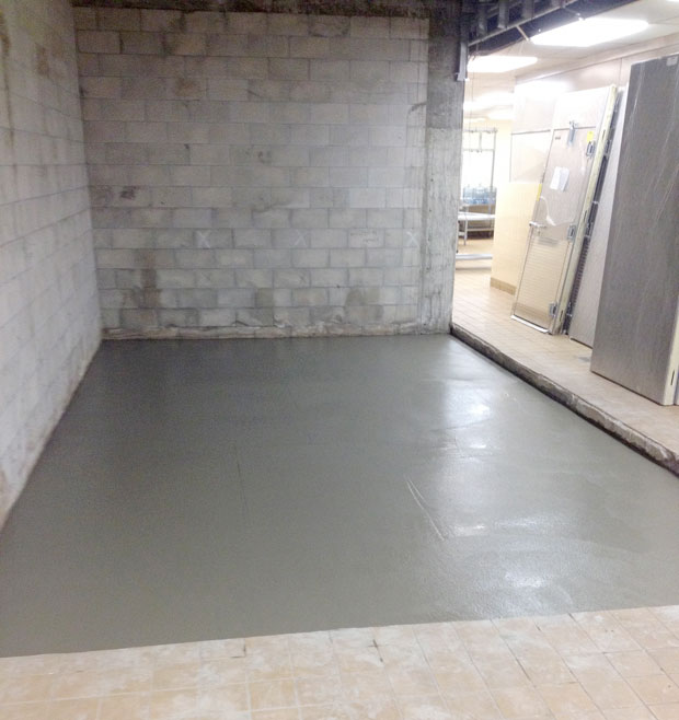 Southwest Middle School Concrete Overlay 07