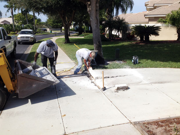 The Cloisters Sidewalk Repair in Indiatlantic, Florida-02