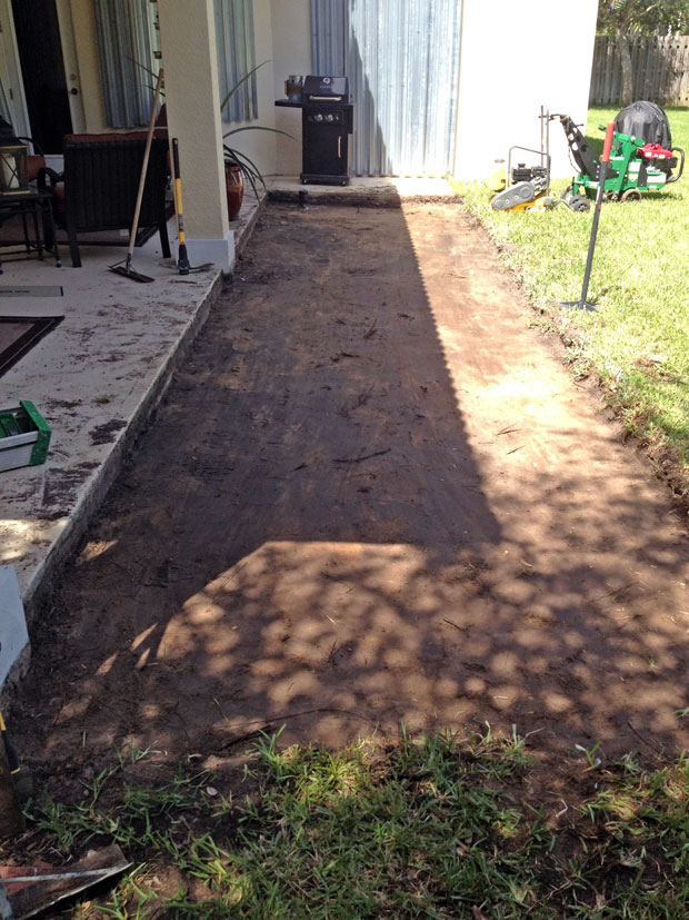 Cobblestone Brick Patio Brevard County, Florida-03