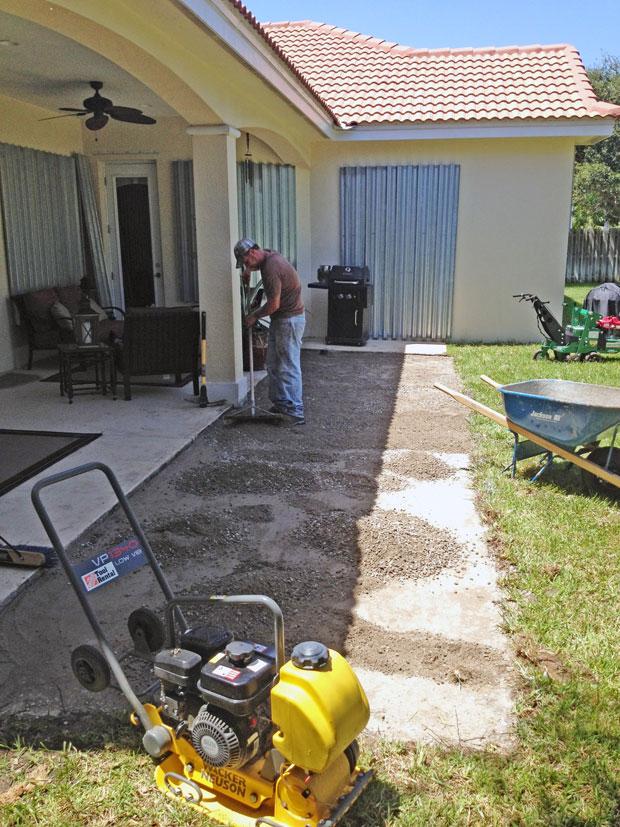 Cobblestone Brick Patio Brevard County, Florida-05