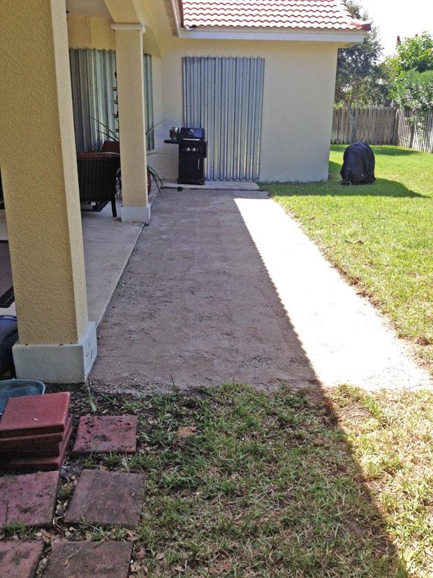 Cobblestone Brick Patio Brevard County, Florida-06