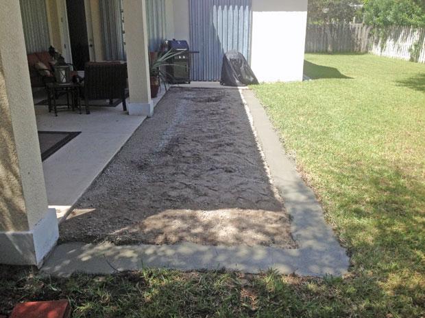 Cobblestone Brick Patio Brevard County, Florida-08