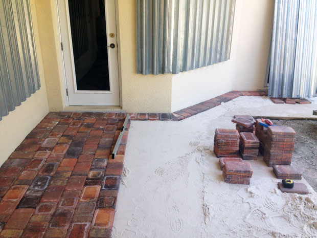 Cobblestone Brick Patio Brevard County, Florida-09