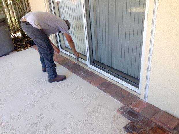 Cobblestone Brick Patio Brevard County, Florida-11