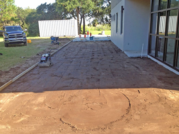 Custom Home Concrete Driveway FL - 04