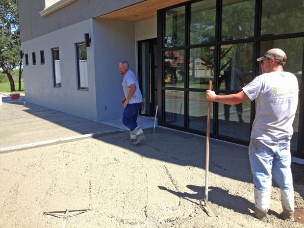 Custom Home Concrete Driveway FL - 06