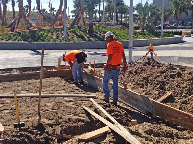 Ron Jon Surf Shop Concrete Foundation-05