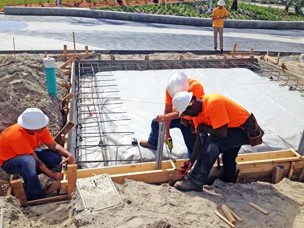 Ron Jon Surf Shop Concrete Foundation-12