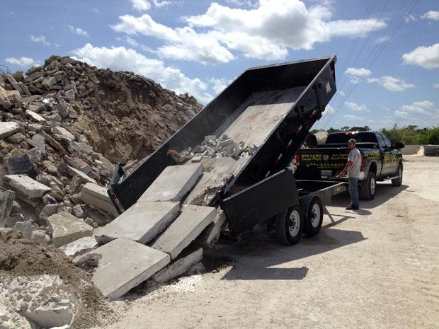 Skid-Steer Skidsteer & Backhoe Service Brevard County, FL - 04