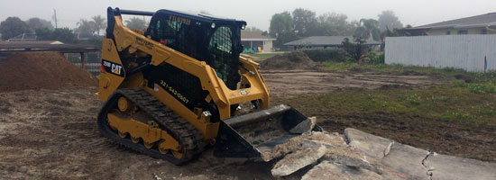 Concrete Demolition Sitework Merritt Island, FL