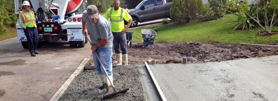 Concrete Driveway and Culvert Palm Bay, Florida - main