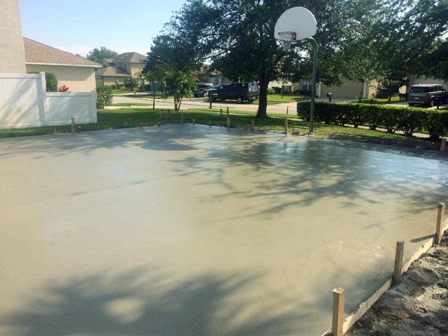 Magnolia Lakes Basketball Court, Melbourne, Florida