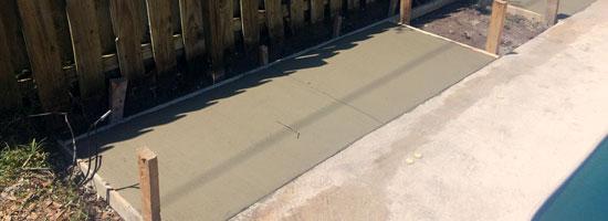 Concrete Pool Deck Extension, Melbourne FL