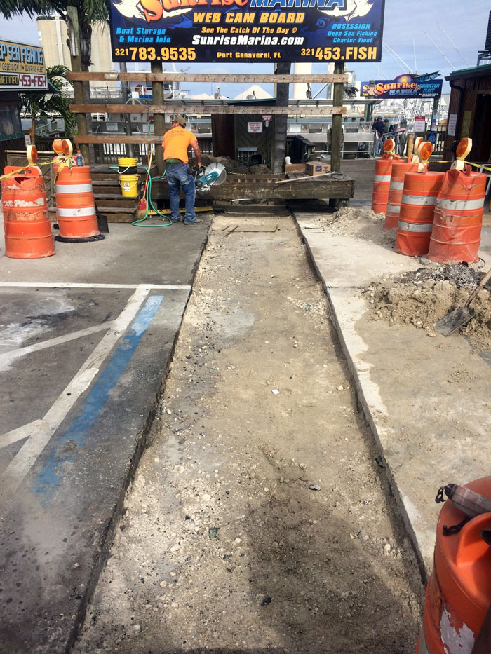 Grills Seafood Concrete Foundations - 03