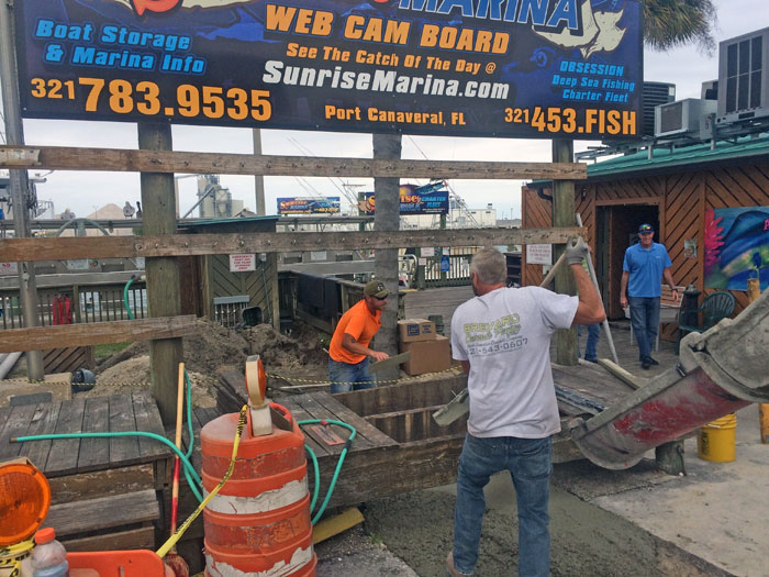 Grills Seafood Concrete Foundations - 05