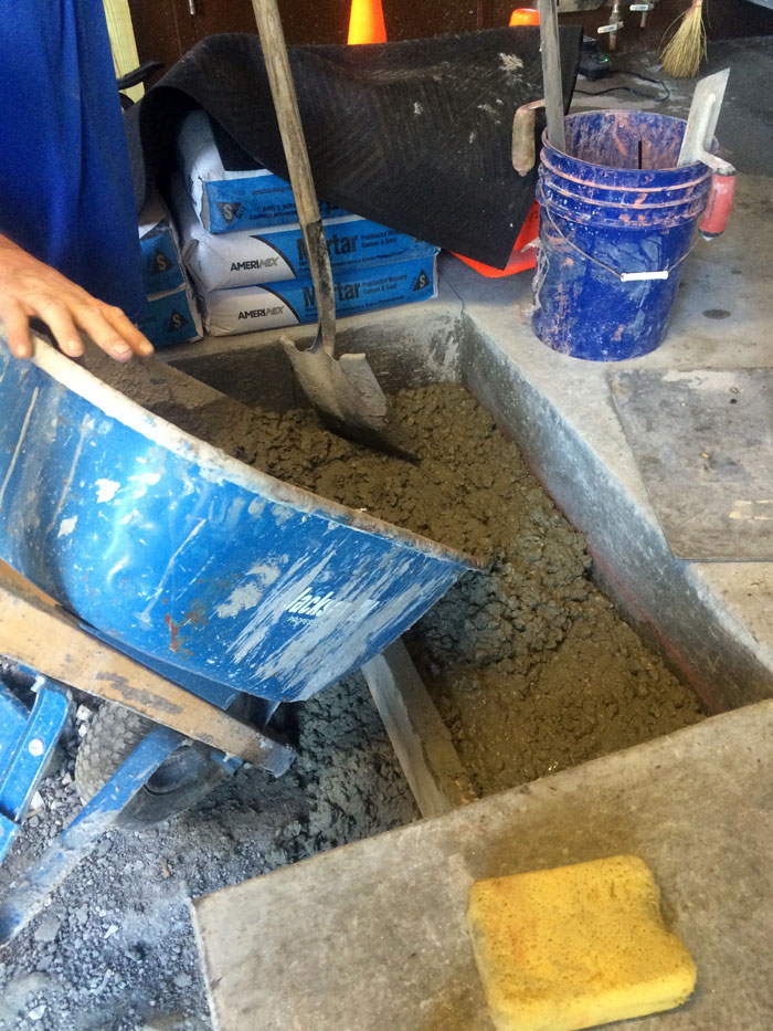Grills Seafood Concrete Foundations - 17