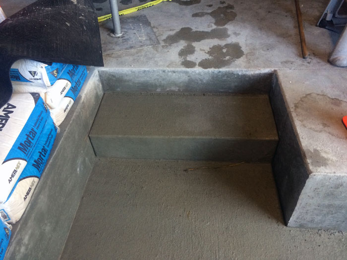 Grills Seafood Concrete Foundations - 20