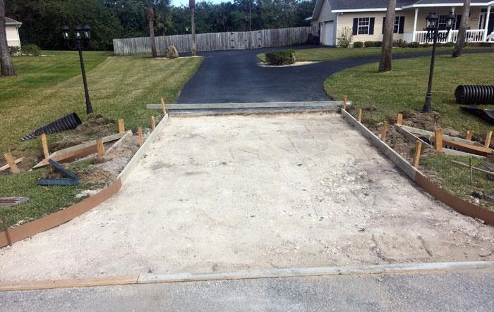 New Concrete Driveway Melbourne FL 07