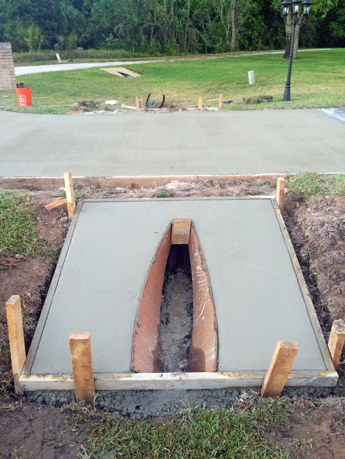 New Concrete Driveway Melbourne FL 13