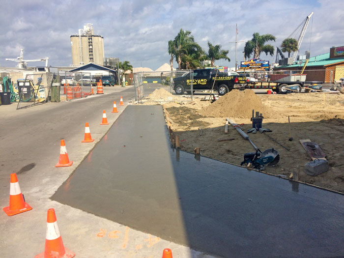 Sunrise Marina Reinforced Concrete Pavement - 10