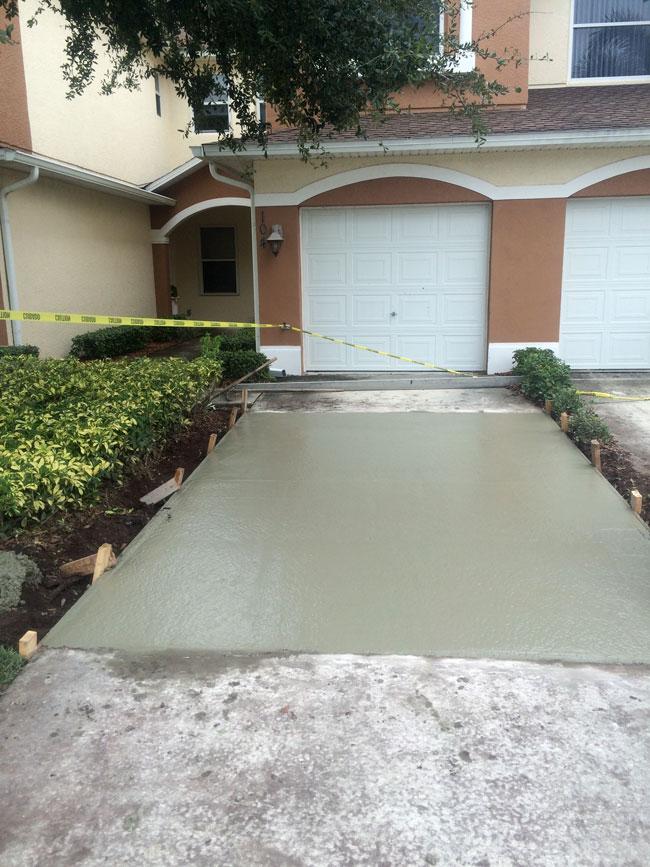 Concrete Driveway Melbourne, Florida - 06