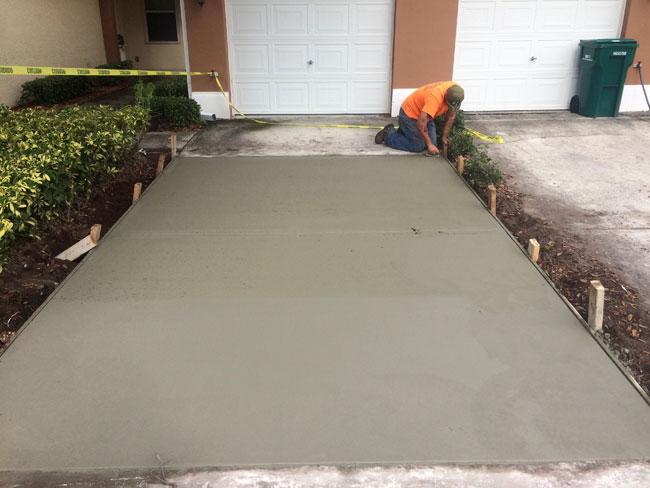 Concrete Driveway Melbourne, Florida - 07