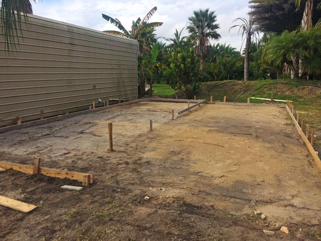 Concrete slab Merritt Island Florida - 04