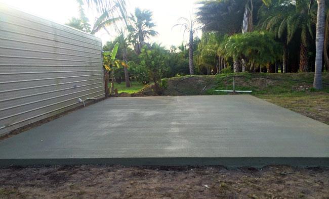 Concrete slab Merritt Island Florida - 08
