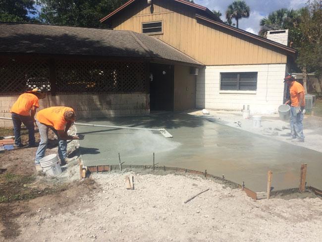 Custom Stamped Concrete Patio Cocoa, Florida - 10