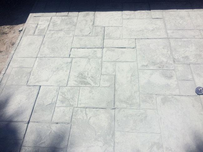 Custom Stamped Concrete Patio Cocoa, Florida - 15