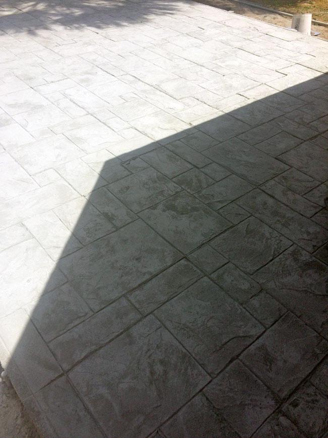 Custom Stamped Concrete Patio Cocoa, Florida - 17