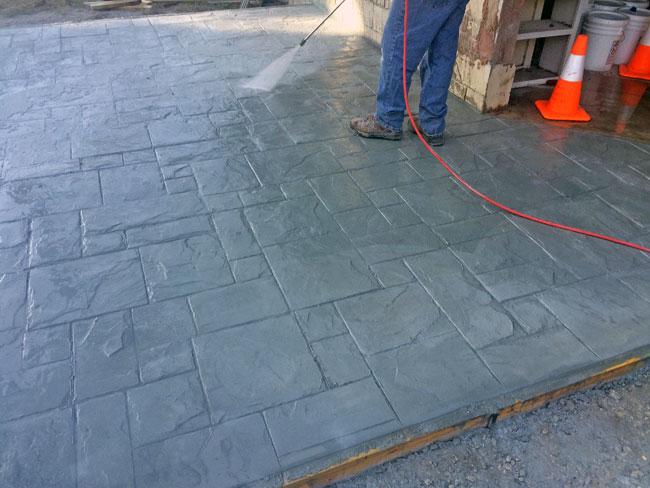 Custom Stamped Concrete Patio Cocoa, Florida - 21