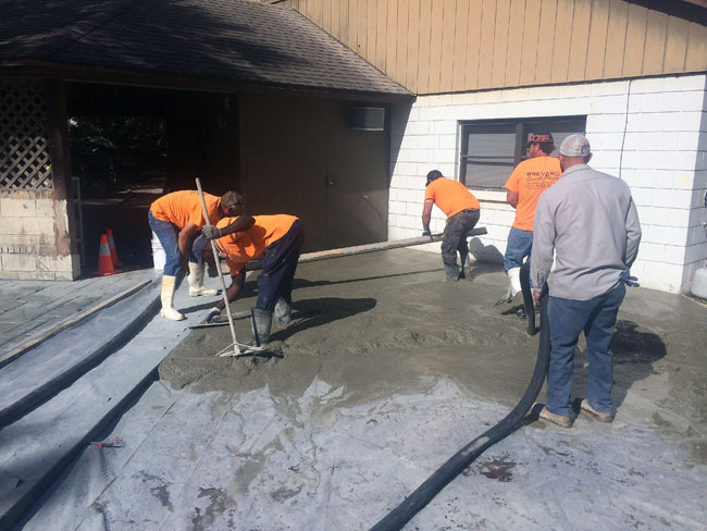 Custom Stamped Concrete Patio Cocoa, Florida - 25