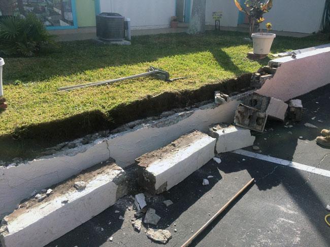 Beach Island Resort Concrete Block Stucco - 02