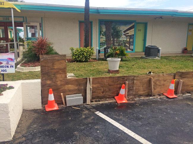 Beach Island Resort Concrete Block Stucco - 04