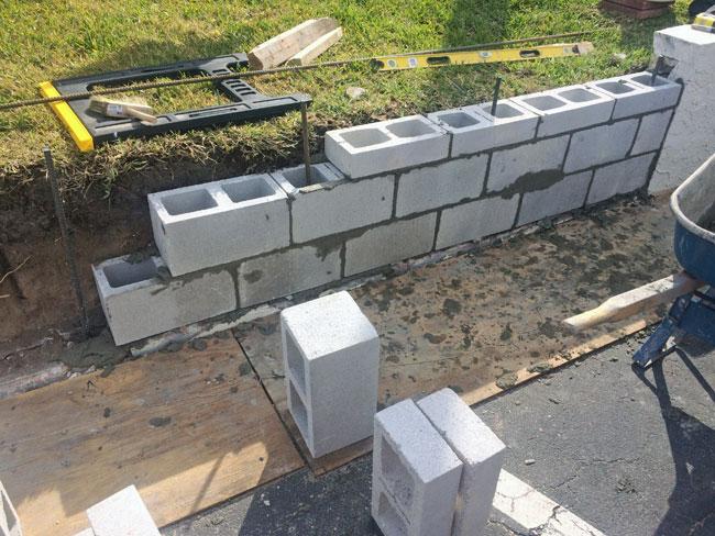 Beach Island Resort Concrete Block Stucco - 08