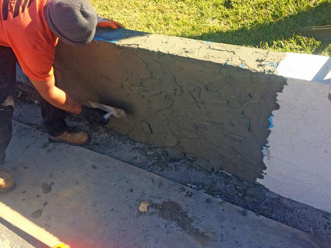 Beach Island Resort Concrete Block Stucco - 13