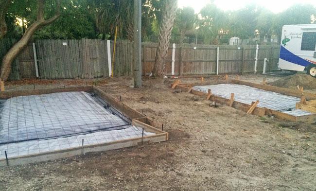 Beachside Storage Concrete Foundations Indialantic, Florida 03