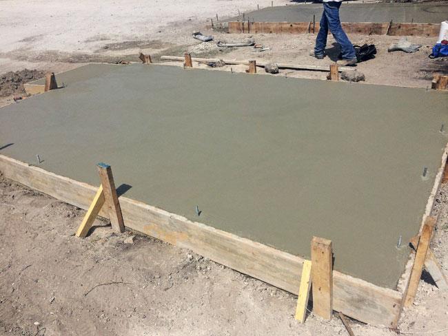 Beachside Storage Concrete Foundations Indialantic, Florida 04