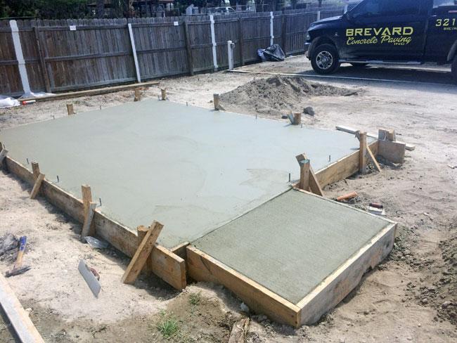 Beachside Storage Concrete Foundations Indialantic, Florida 06