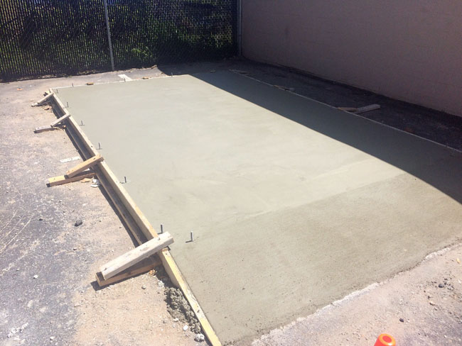 Beachside Storage Concrete Foundations Indialantic, Florida 08
