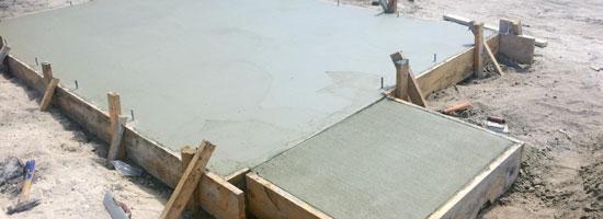 Beachside Storage Concrete Foundations Indialantic, Florida
