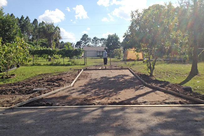 Concrete Driveway and Culvert Palm Bay, Florida 05