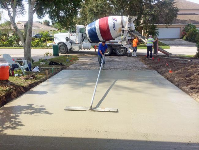 Concrete Driveway Rockledge, Florida 05